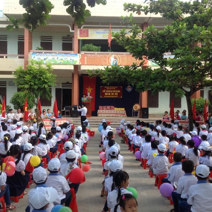 Tùng bừng ngày khai trường năm học 2017 2018